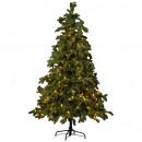 LED Fir Norma 392LED, H225cm, D132cm, green Tips: